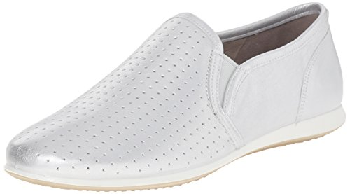 Ecco TOUCH, Damen Slipper, Silber (SILVER METALLIC01097), 40 EU (7 Damen UK)