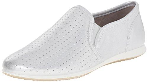 Ecco Ecco Touch Sneaker, Mocassins femme Argent - Silber (SILVER METALLIC01097)