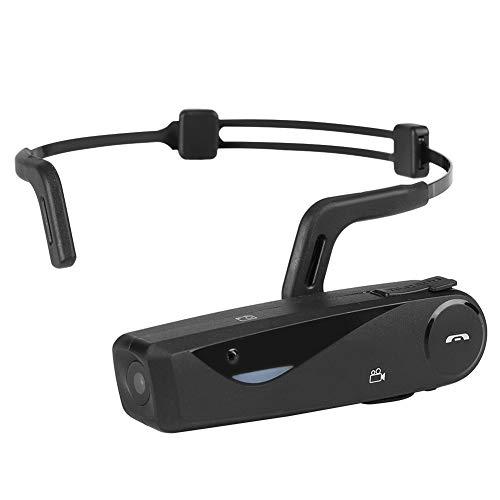 dv 27 lang Eboxer Mini HD Smart Bluetooth Wifi Headset Kopf-DV-Video-Antwort Das Telefon,Wifi Kopfhörer DV