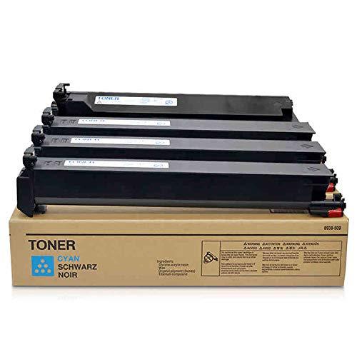 RecycelbarTn214 ersetzt die hochleistungsfähige kompatible Konica Minolta-Farbtonerkartusche für den Konica Minolta Bizhub C200 C200e C210 C203 C353-Kopierer-4colors -