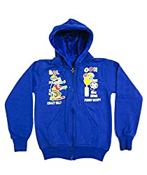 Pegaso Kids SweatShirt Hooded Royal Blue (2-3 Years)
