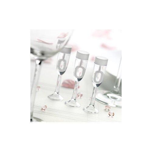 Wedding Bubbles Campagner Glas - 24 Stück