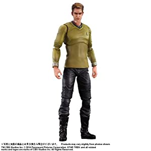 Figura Star Trek Kirk Play Arts 27 Cms