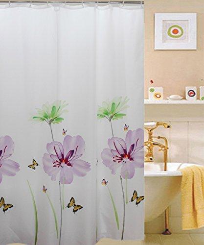 kashi-home-71x71-inch-purple-lily-fabric-shower-curtain