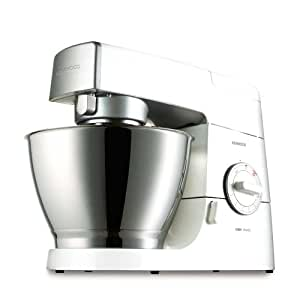 Kenwood KM336 Chef Classic Stand Mixer in Gloss White with Liquidiser