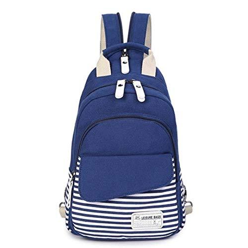 eue Frauen Brusttasche Rucksack Dual-Use Multi-Purpose Taschen Kleine Messenger Bag Fashion Sport Diagonal-Paket ()