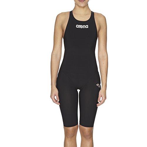 Arena, Costume nuoto da competizione Donna Powerskin ST, Nero (Black), 30(36 IT)
