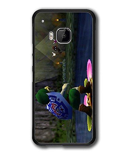 Printed HTC one M9 Hülle Case Cover,Legend of Zelda Majora's Mask Games Themes Plastik Matt Ultra Slim Schale für HTC one M9