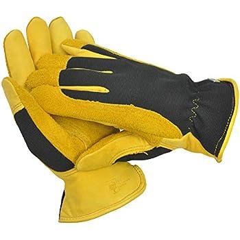Flight Tracker Gold Leaf Ladies Dry Touch Gardening Gloves Yard, Garden & Outdoor Living Gardening Gloves