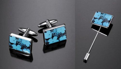 andy-warhol-by-troika-shiny-imitation-rhodium-flowers-mens-jewelry-set-includes-cufflinks-and-tie-pi
