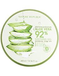 Nature Republic Soothing & Moisture Aloe Vera 92% Gel, 300 Gram