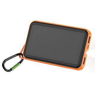 Solar Charger ALLPOWERS 15000mAh Solar Power Bank for cell phone, iPhone, iPad, Samsung and More-ORA