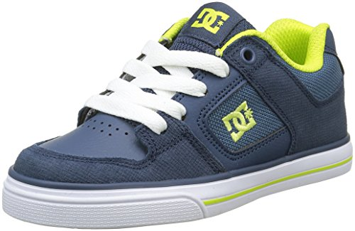 DC Shoes Bambino Pure SE Scarpe da Ginnastica Basse Blu Size: 39