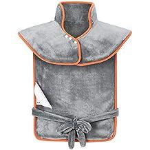 85x65cm Largar Almohadilla Eléctrica Calor espalda y lumbares de OMorc, Calentamiento rápido, 3 niveles