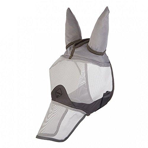 lemieux-unisex-comfort-shield-full-fly-mask-silver-grey-wool-large
