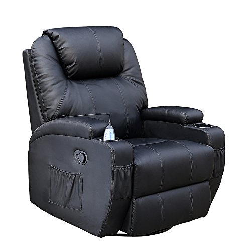 cinemo-9-in-1-leather-recliner-chair-rocking-adjustable-headrest-massage-swivel-heated-gaming-nursin