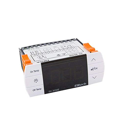 Elitech 220V Digitaler Temperaturregler Thermoelement -40 ℃ bis 90 ℃