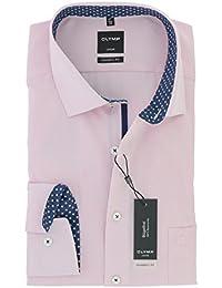 OLYMP - Camisa formal - Rayas - Clásico - Manga Larga - para hombre