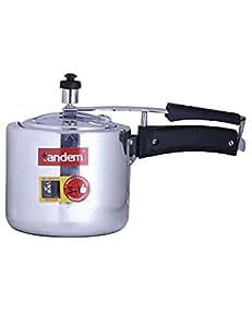 Tandem Pressure Cooker 3L, Induction Base, Anti-Bulge