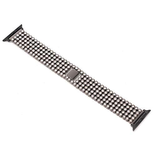 LUX Chunyang Edelstahl-Uhrenarmband-Smart-Handgelenk-Band-Ersatz