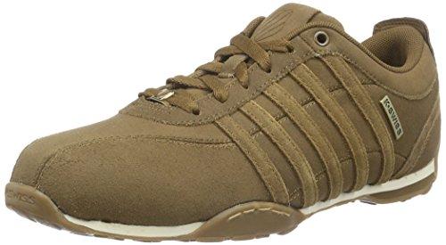 k-swiss-men-arvee-15-low-top-sneakers-brown-bison-amber-gold-236-11-uk-46-eu