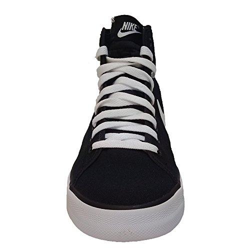 Nike Primo Court Mid Sneakers Stivaletto in Tela Uomo Black White Black White