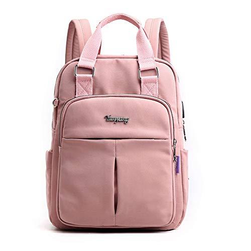 Hanggg Borsa da donna borsa casual da viaggio zaino da marea borsa da viaggio per computer di grande capacità