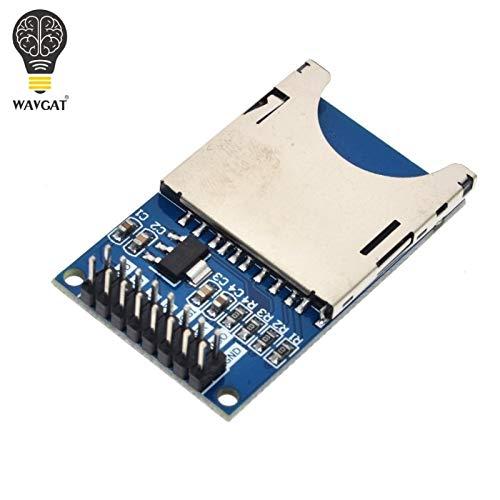 Smart Electronics Lese- und Schreibmodul SD-Kartenmodul Slot Socket Reader ARM MCU für Arduino DIY Starter Kit WAVGAT Sd-starter