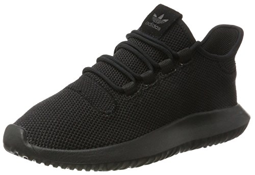 adidas Tubular Shadow, Scarpe da Ginnastica Basse Unisex-Adulto, Nero (Core Black/footwear White/core Black), 44 2/3