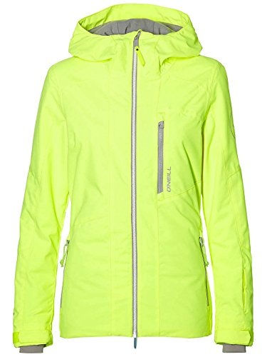 O'Neill Damen Snowboard Jacke Cascade Jacket pyranine Yellow, L Oneill Snowboard