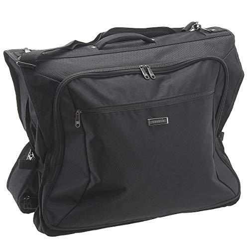 Travelite Knitterfrei reisen: Klassische Gepäck-Serie Mobile macht Sie auf Geschäftsreise mobil mit Stil Kleidertasche, 110 cm, 60 Liter, schwarz