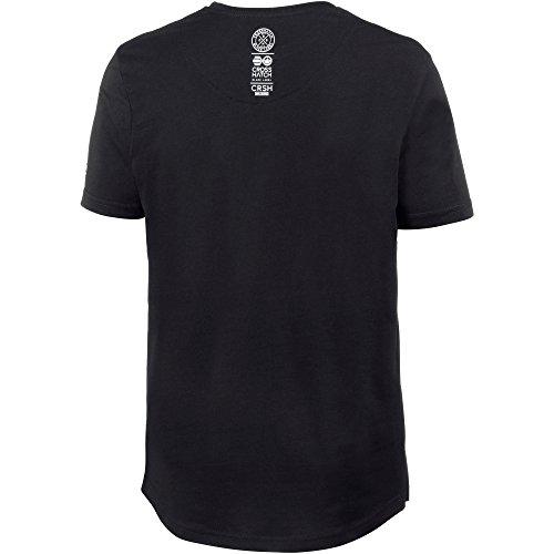 Crosshatch Herren Printshirt black