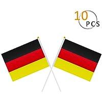 Deutschland Taffstyle Fanartikel XXL Balkonfahne 300cm x 90cm