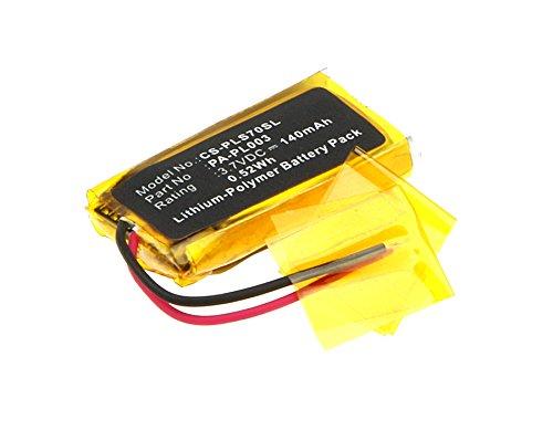 Batterie pls70Longer für Kopfhörer Headset Plantronics Avaya awh75N CS70CS70N cs70-n Savi 730Voyager Pro HD Voyager Pro UC Voyager Pro + Plus W730WH210Pa-pl00366278-0179879-01140mAh -