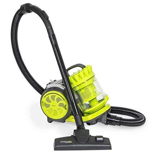 Cecotec Aspirador Trineo Conga Ciclonic Cord Rewinder. Aspirador sin Bolsas Potente. 800...