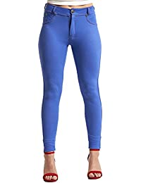 Oops Outlet Womens Ladies Slim Skinny Fit Fitted Coloured Stretchy Jeans Trousers Leggings Jeggings Plus Size 8-16
