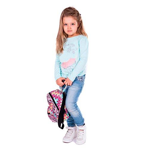 Sansee stampa zaino bambino mini zaino scuola borsa casual libro borsa a tracolla, Colour D Colour C