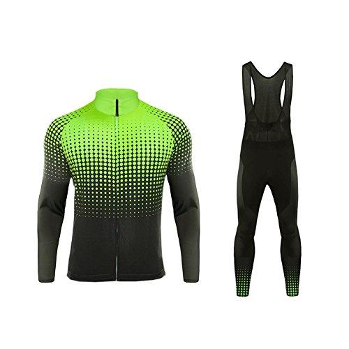 Uglyfrog Nouveau Hiver Vêtements de Cyclisme Thermique Polaires Sports de Plein air Hommes vélo Maillot vélo à Manches Longues de vélos CXSZ10