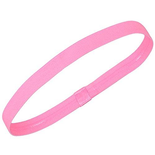 TRIXES Banda para la Cabeza Antideslizante Color Rosa Suave Perfecto P