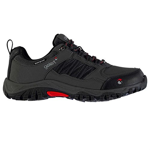 Gelert Mens Horizon Low Waterproof Walking Shoes Breathable Outdoor Trekking Charcoal UK 10.5 (44.5)