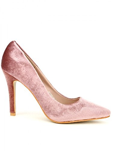Cendriyon, Escarpin color Rose XELLS Chaussures Femme Rose
