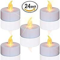 LED Kerzen,24 Stück LED Teelichter Kerzen