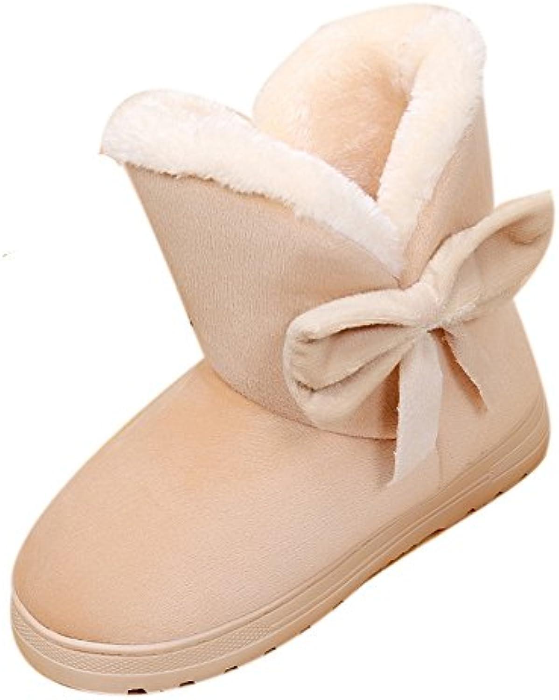 Chaussures Femme, Yesmile Mode Bowknot Chaud Femmes Chaussures Flats Chaussures Femmes Snow Femmes Bottes Automne Hiver ChaussuresB07H4HMT33Parent 5a7977