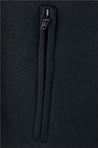 Batman Logo Sweat à capuche zippé noir Noir