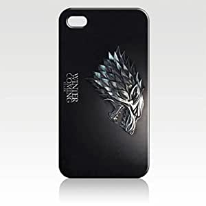 SUUER Rubber Silicone Custom Game of Thrones Design Skin Personalized Custom Rubber Tpu CASE for iPhone 5 5s Durable Case Cover by heywan