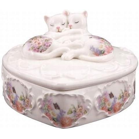 Kitty Kats Sleeping Cats Trinket Box by