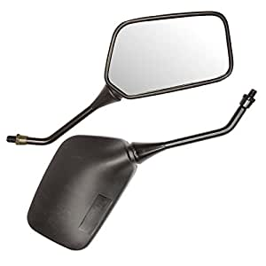 Ryde Universal 10mm Motorcycle Mirrors - Black