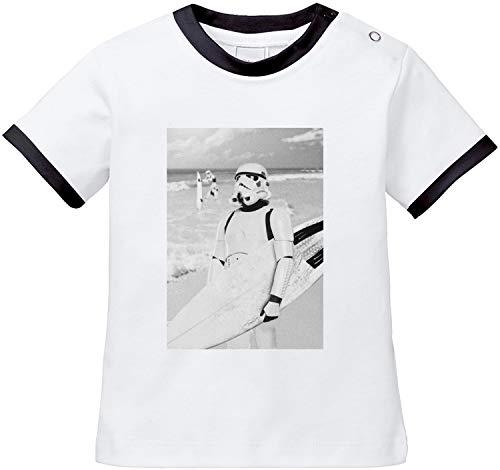 EZYshirt® Stormtrooper Baby T-Shirt Bio Baumwolle