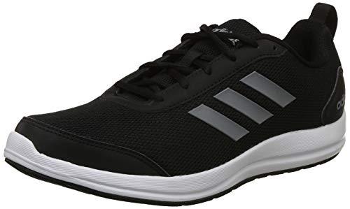 Adidas Men's Yking 2.0 Cblack/Visgre Running Shoes-9 UK/India (43 1/3 EU) (CJ8047)