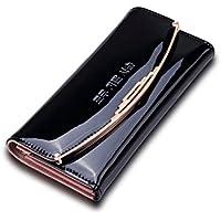 Fayting EU Portafoglio donna borsellino liscio vari colori da scelto carte borsellino portafoglio da banchetto buon regalo